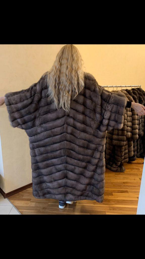 Шуба кимоно из куницы в Киеве