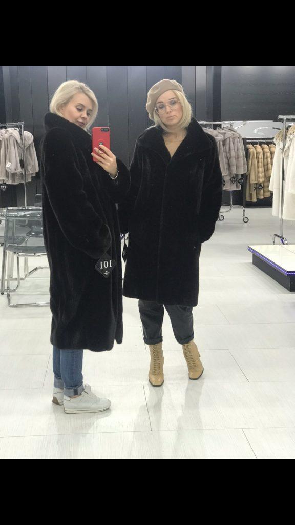 Норковые шубы и пальто в Киеве разных фасонов блэклама