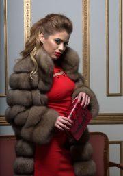 Шуба из баргузинского соболя Luxury