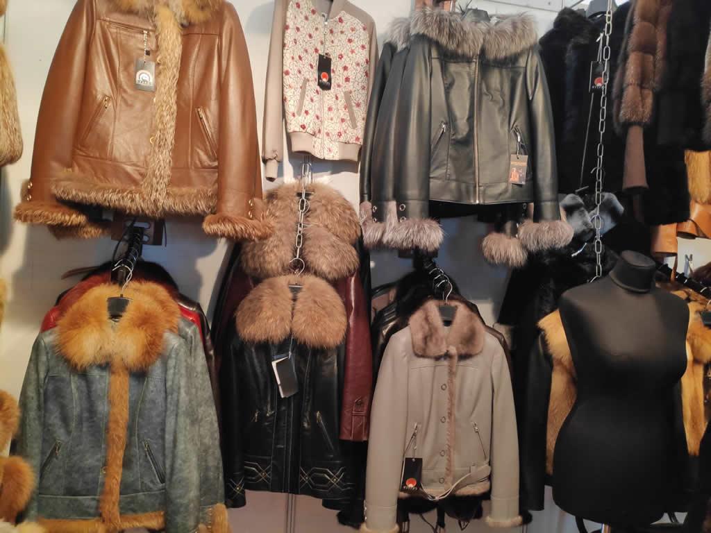 осенние и зимние женские кожаные куртки с мехом лисы