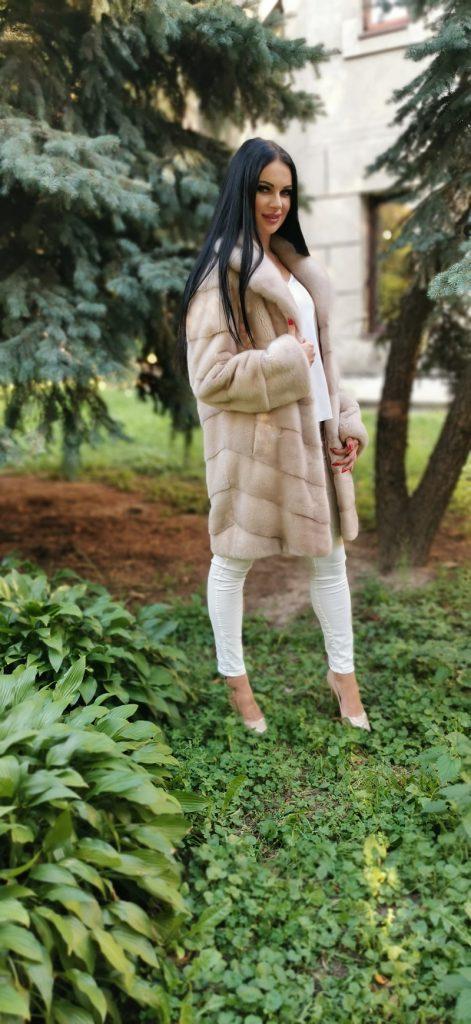 Канадська норка Pearl.  Розмір S-M.  Ціна 29 000 грн
